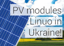 PV modules Linuo in Ukraine